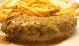 L'andouillette à la moutarde de dijon, 10€