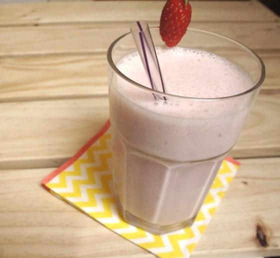 milk shake fraise menthe