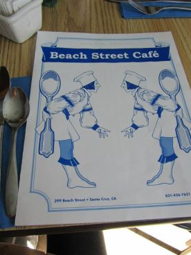 californie beach street cafe