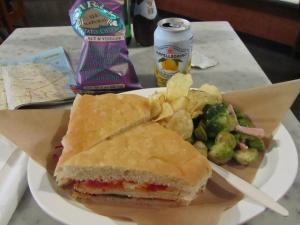 californie sandwish focaccia