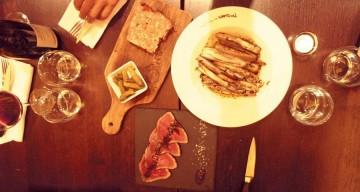 Couteaux en persillade, terrine, tataki de bison (de 8 à 11€)