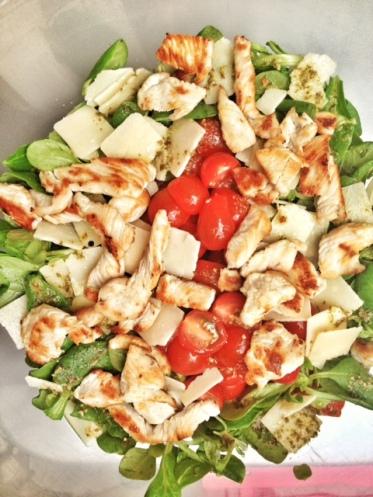 LA salade de Ceasar...