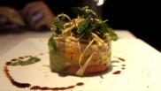 Ceviche de dorade (mangue, pommes, citron vert)- super bon !