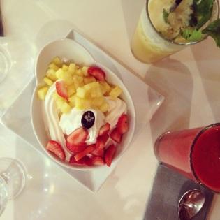 Le paradis du fruit & ces glaces de folies...