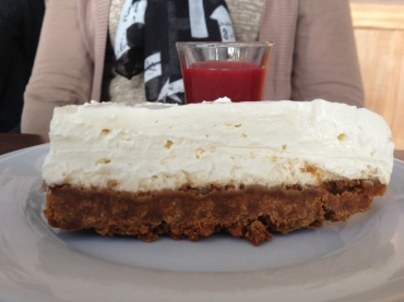 LE meilleur cheesecake de Paris (et c'est pas des conneries), La Passerelle 75 019