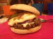 Soirée meufs, soirée burger ! Avec des muffins, c'est topissime !