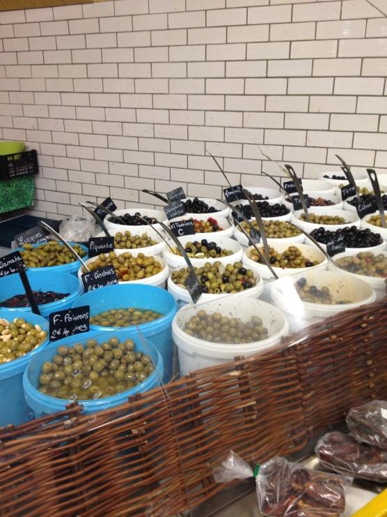 Les olives marinées, les princesses du marché !
