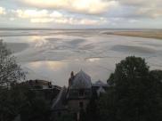 La vue du haut de l'abbaye