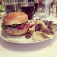 Le burger au pastrami et gorgonzola wow ! - 11€