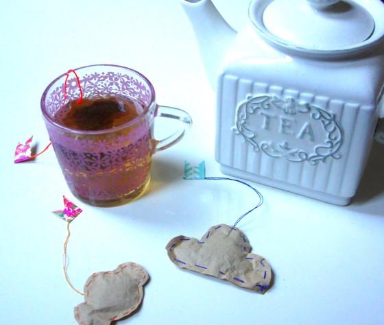 sachet de thé faits maison