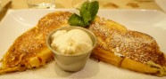 French toast & glace vanille