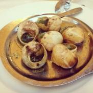 Les escargots de chez Chartier <= chronique complète sur le blog!