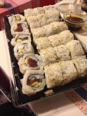Le samedi, c'est sushis !