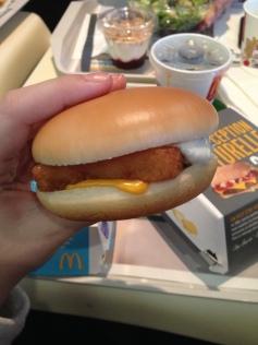 Test du Filet'O'Fish = trop CHELOU